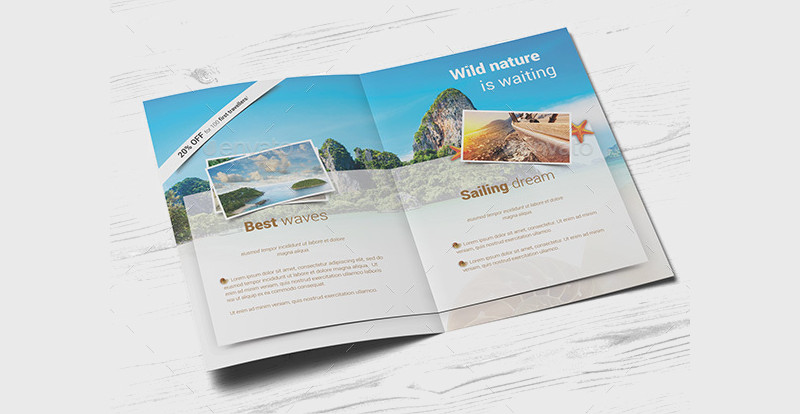accommodation travel holiday brochure