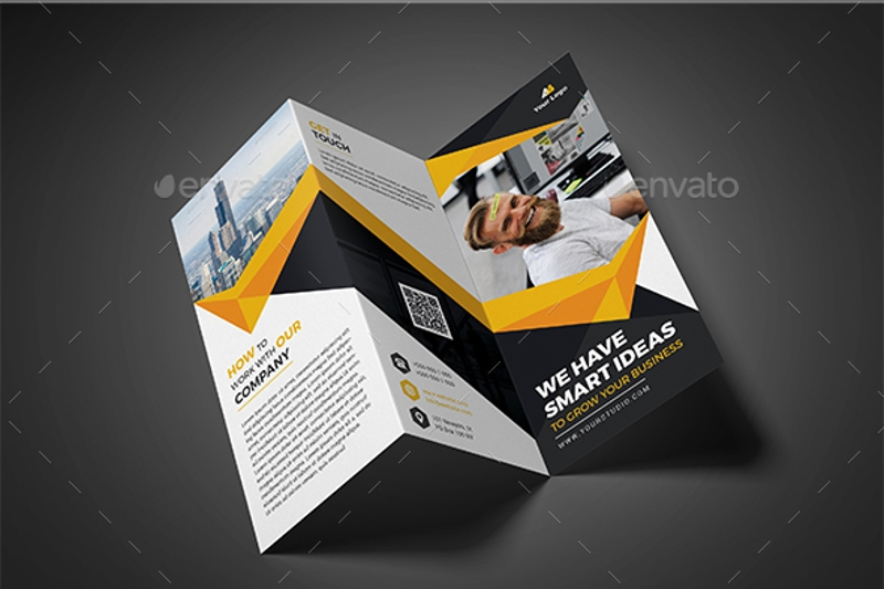 advertising tri fold brochure