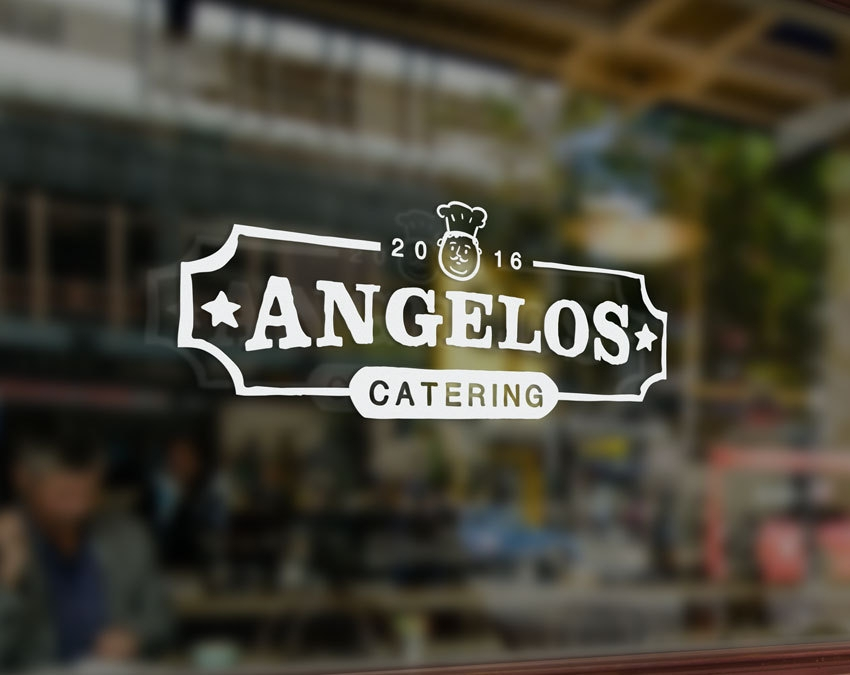angelos catering logo