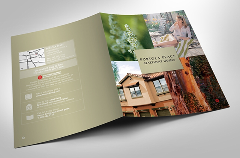 apartment homes brochure