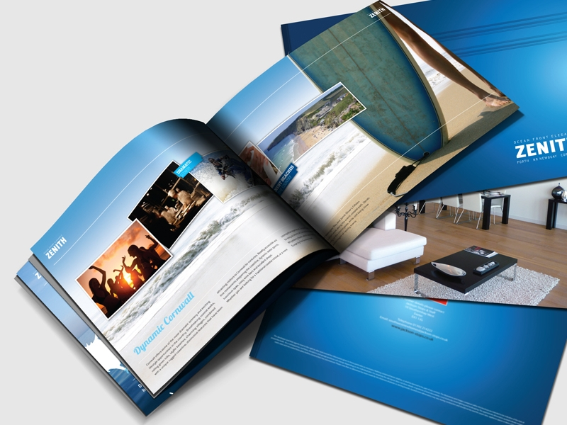 apartment landscape brochure