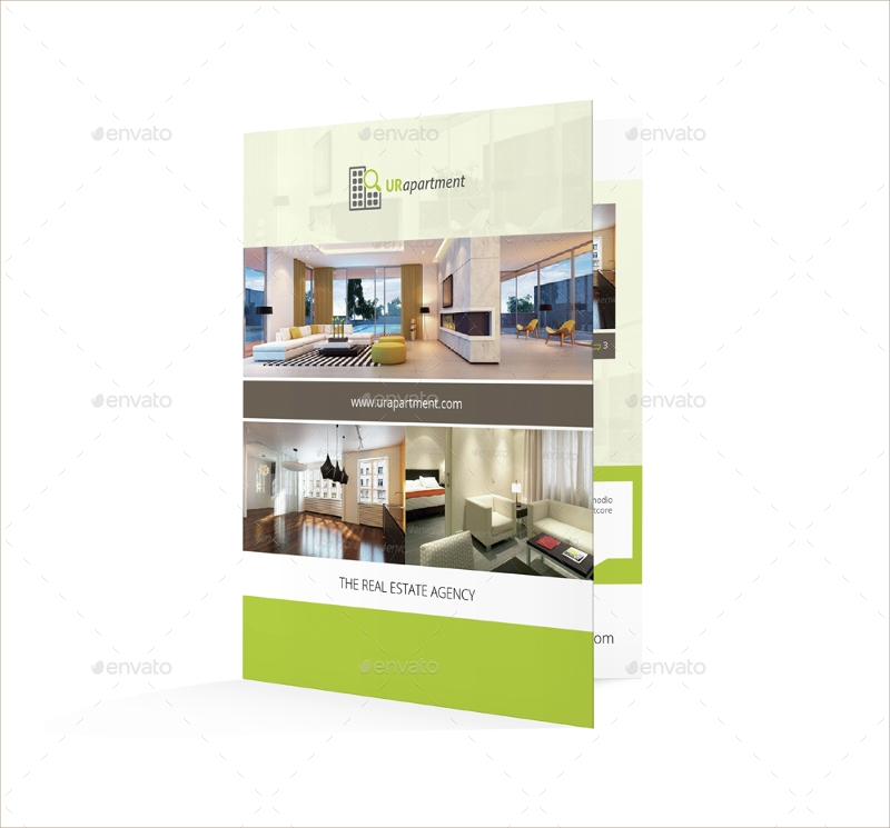 apartment for rent bifold brochure