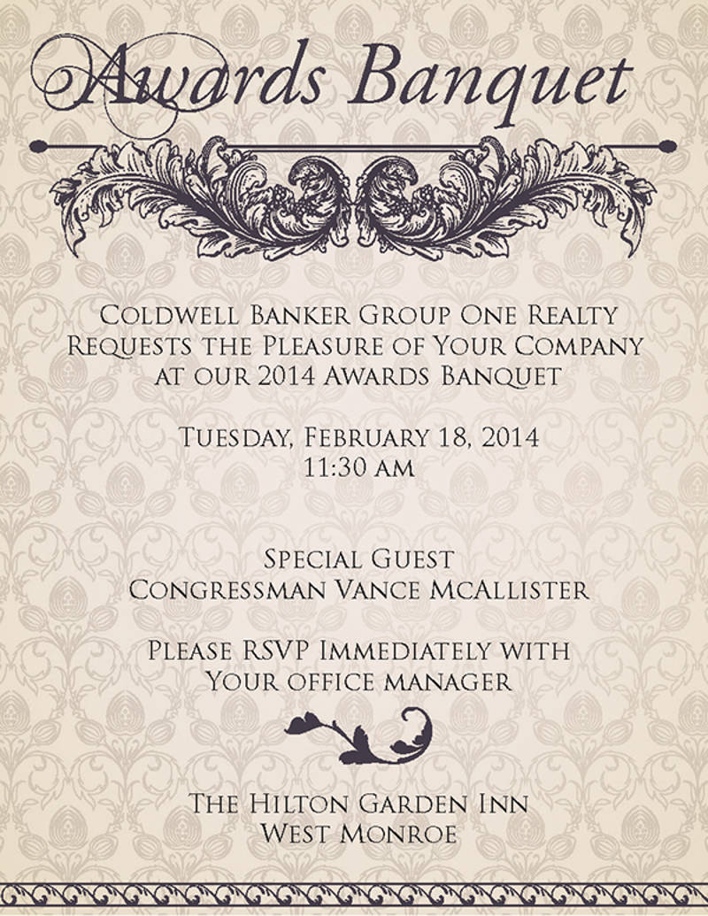 8 Banquet Invitation Designs And Examples PSD AI
