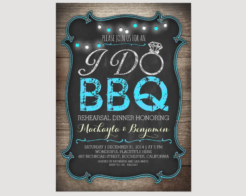 bbq dinner invitation