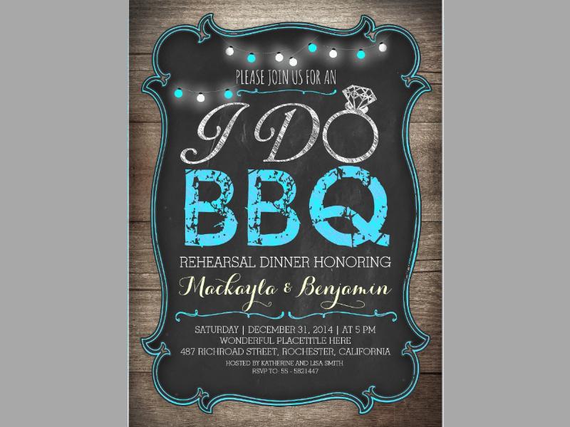 bbq rehearsal dinner invitation1