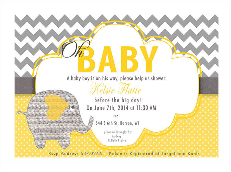 baby shower invitation design1