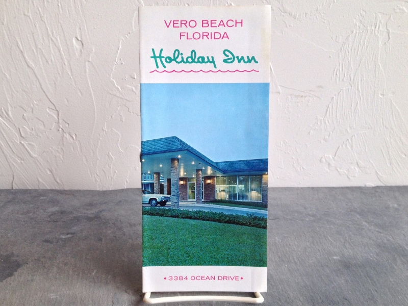 beach florida holiday brochure