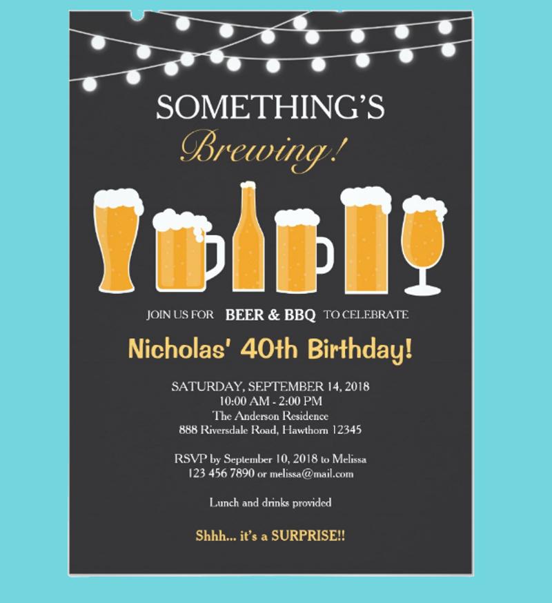 beer adult birthday invitation1