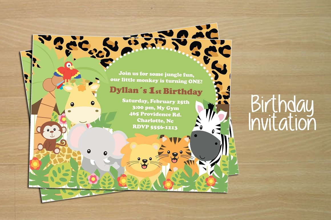 boy birthday invitation card