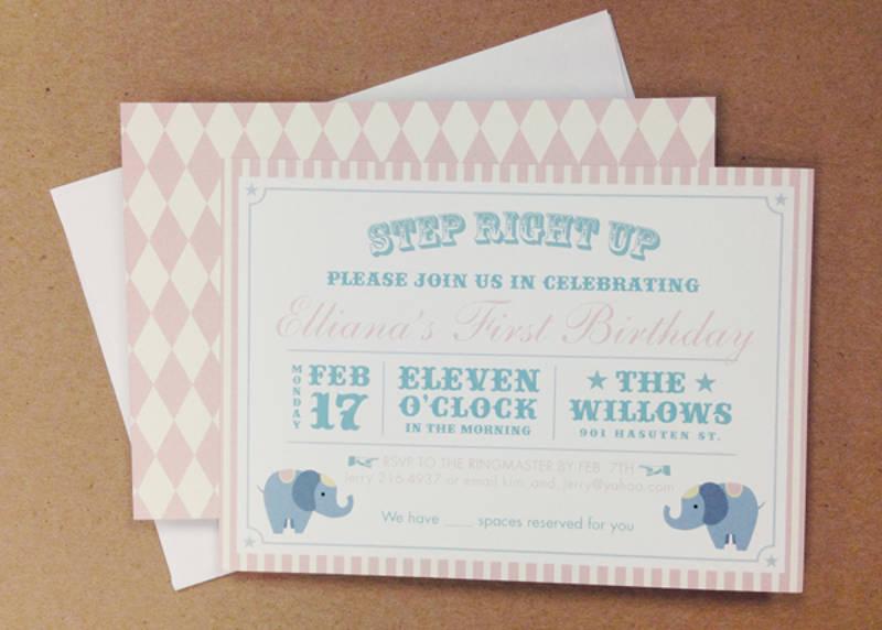 boy first birthday invitation design
