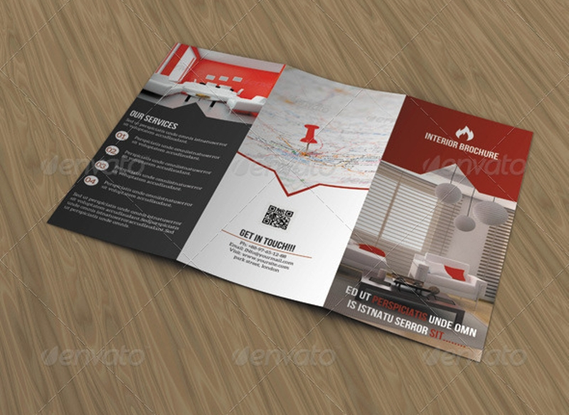 business interior brochure design