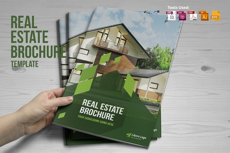 businesss real estate brochure design
