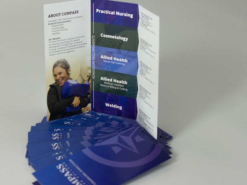 career college brochure