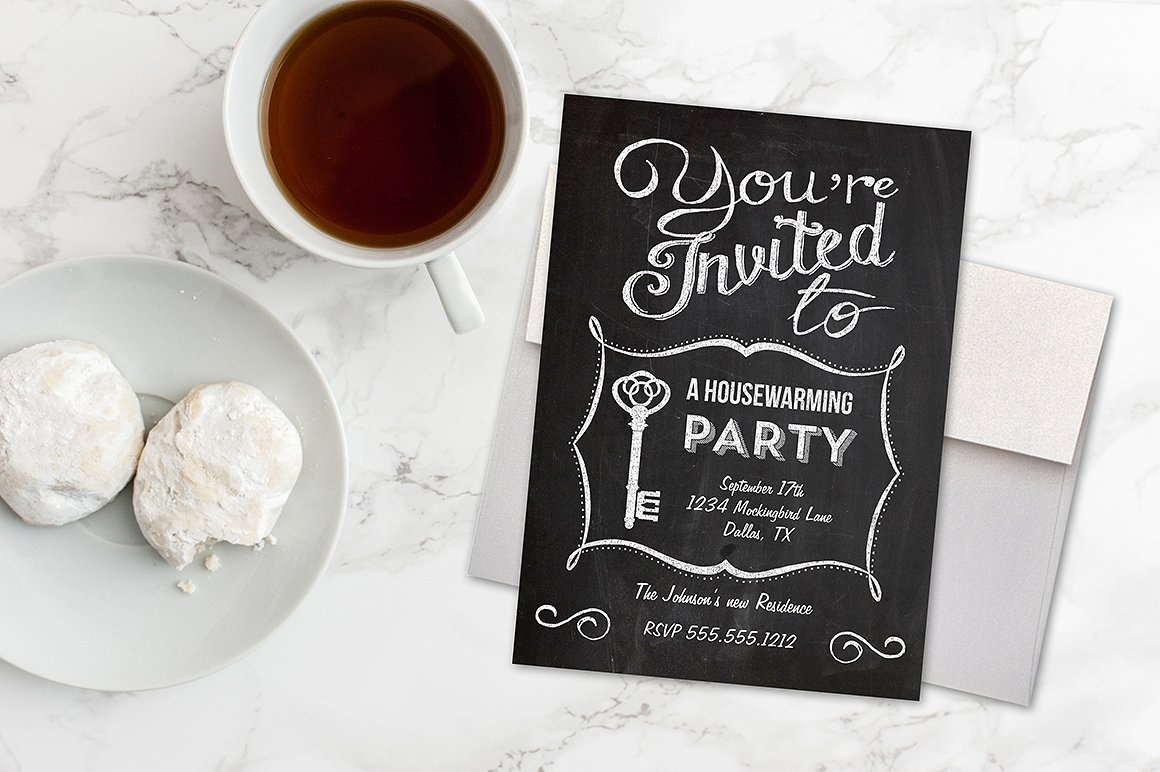 chalkboard housewarming invitation2
