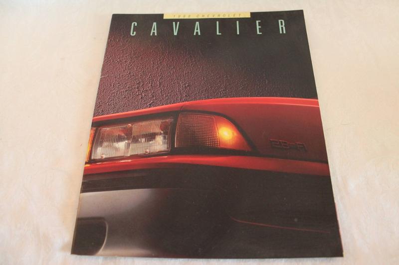 chevrolet cavalier sales brochures