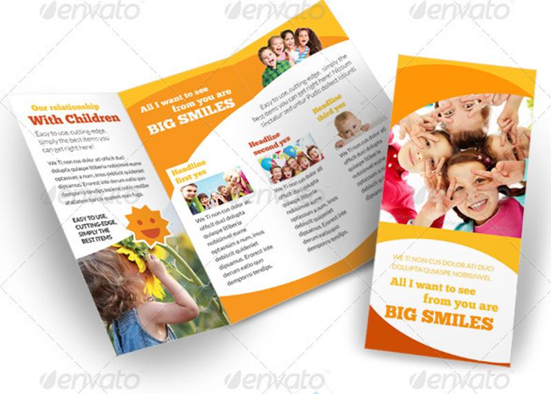 child care kindergarten brochure1