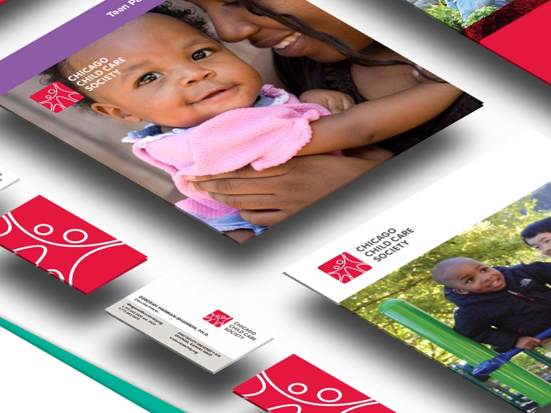 child care society portfolio brochure