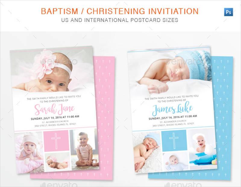 christening baptism invitation template1