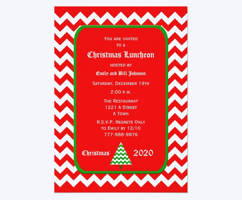 christmas luncheon invitation1