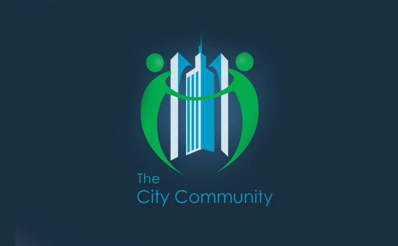 city community construction logo