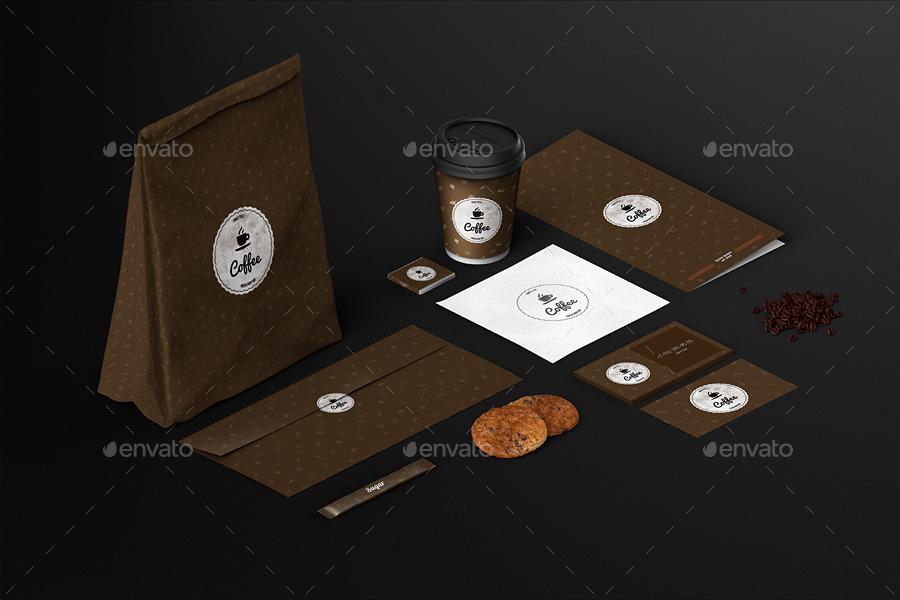 coffeehouse branding identity