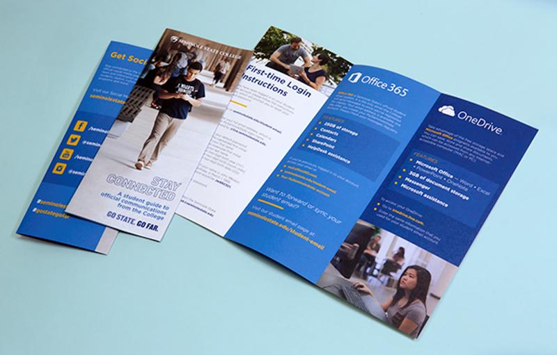 college brochure design