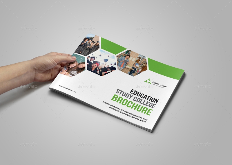 college education brochure design
