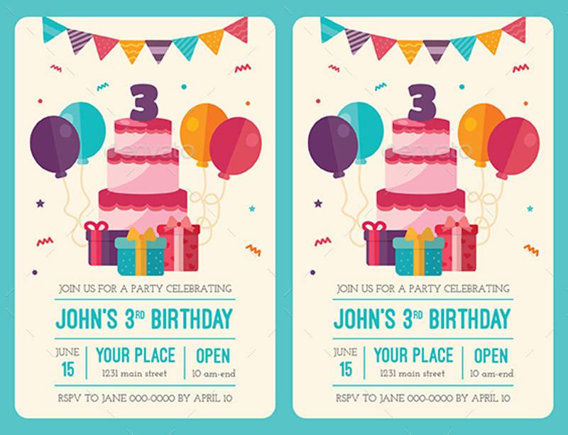 colorful birthday invitation1