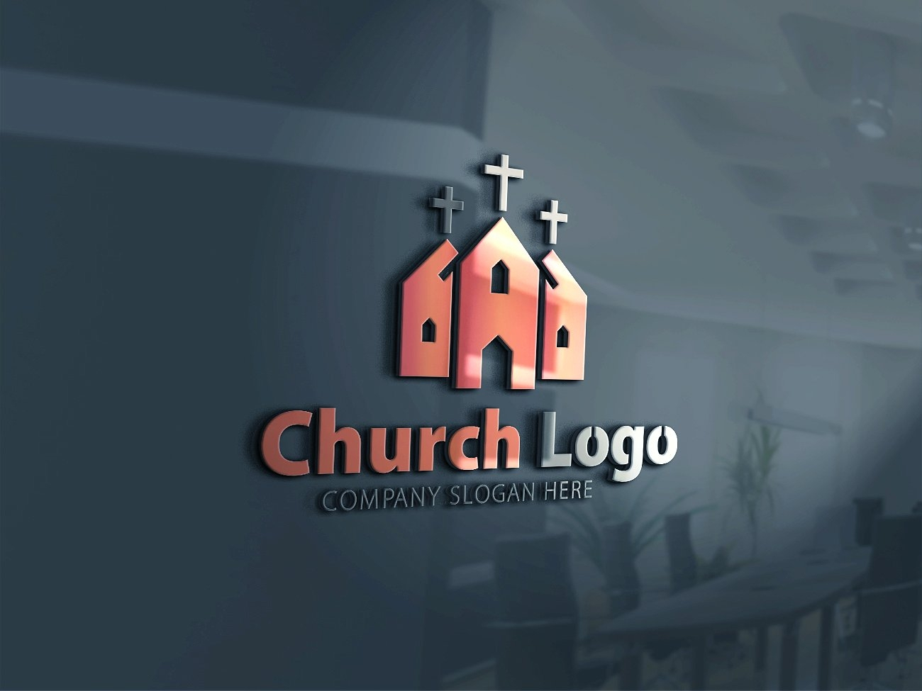 colorful church logo