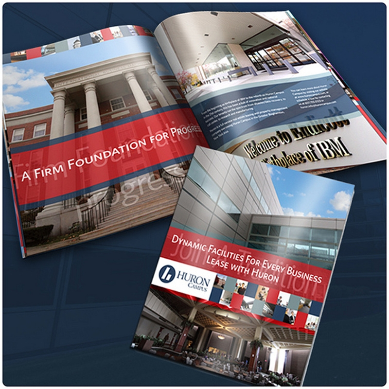 commercial real estate sales brochure design