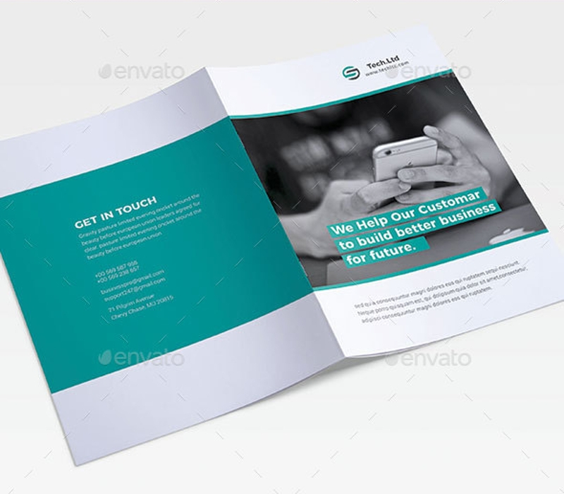 company agency brochure design