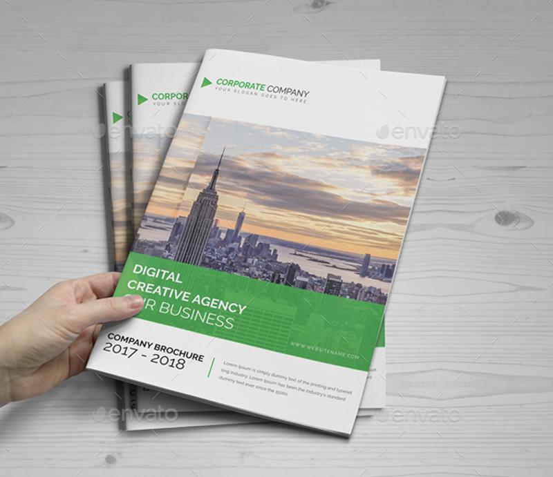 company bifold brochure design