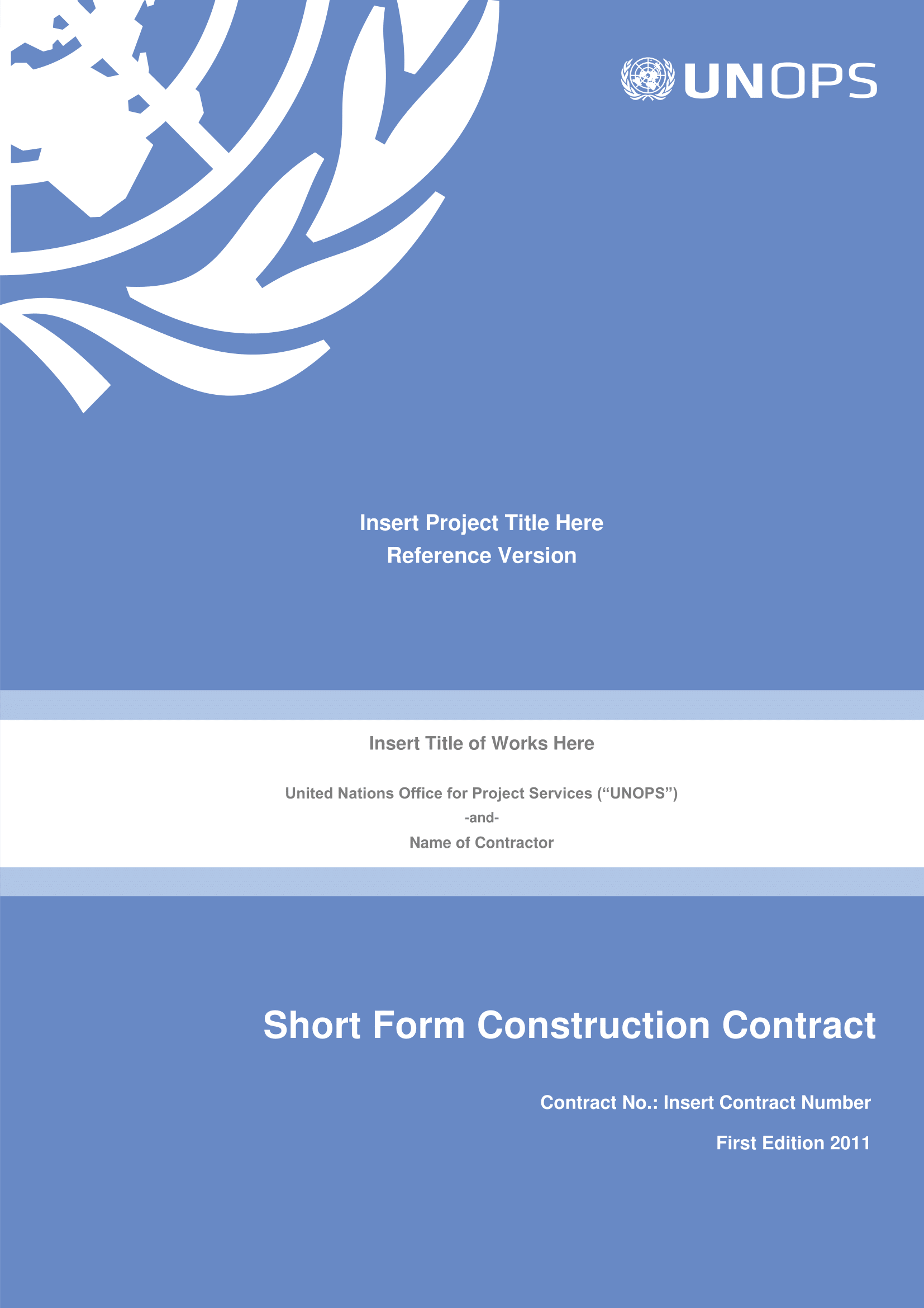 construction project contract 01