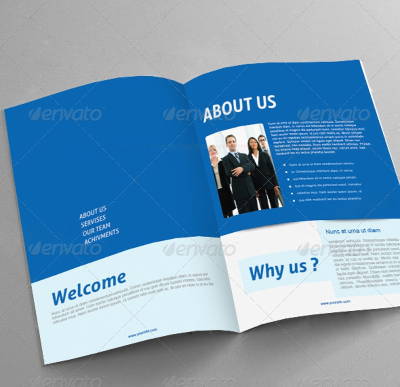 consultancy brochure design