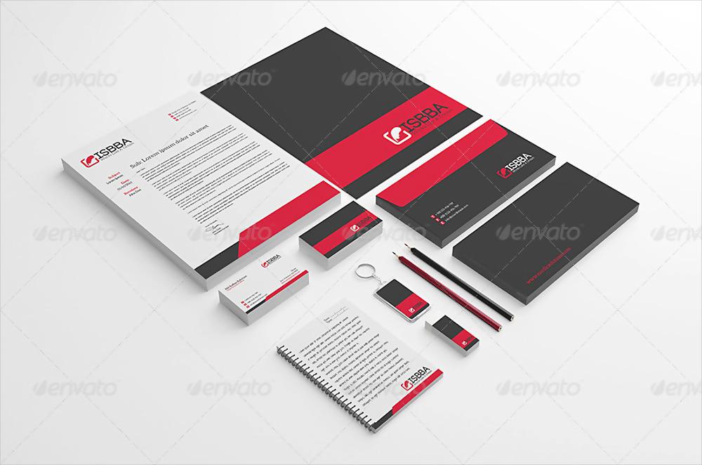 corporate brand identity template