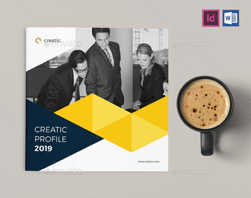 corporate company brochure design