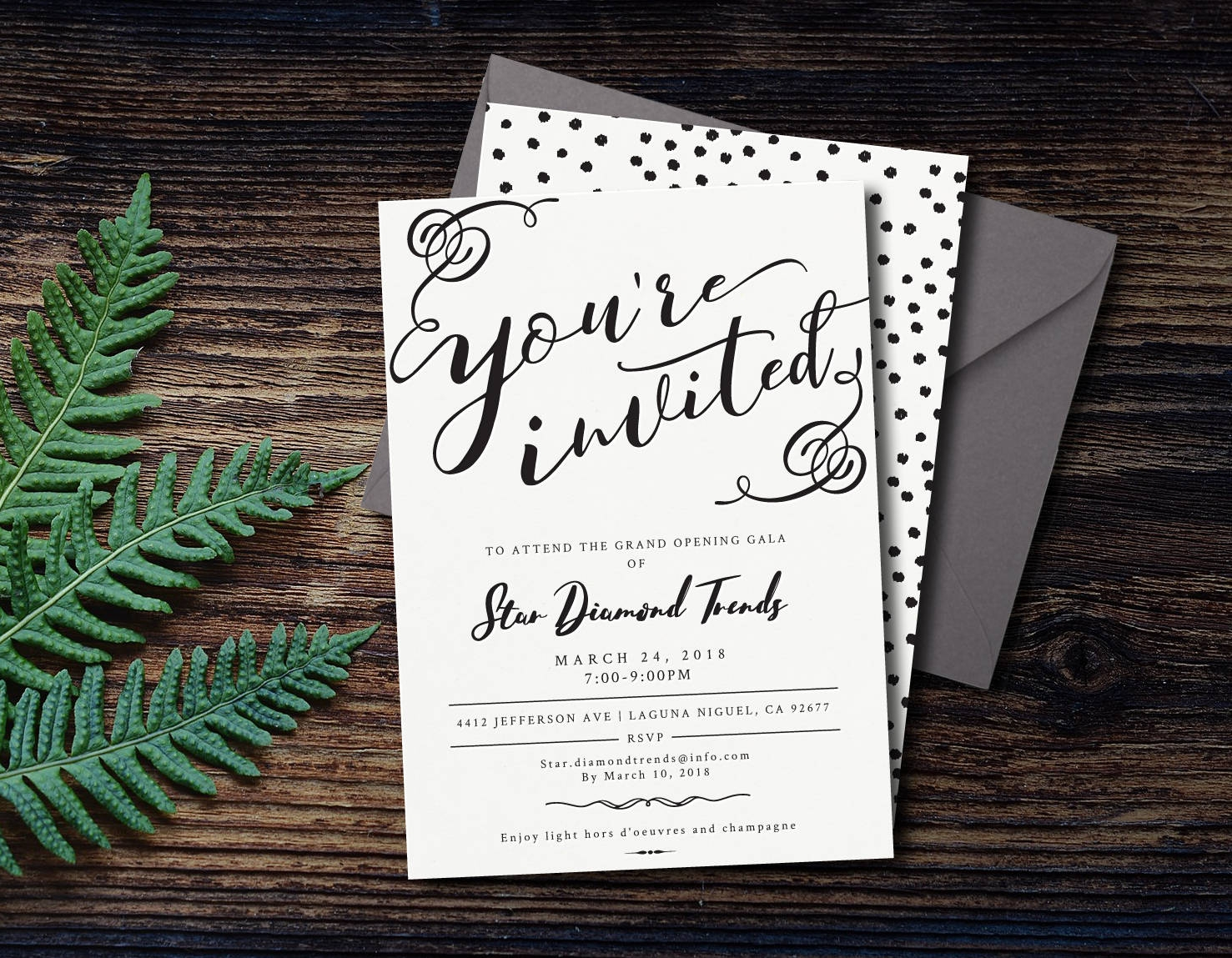 corporate event party invitation