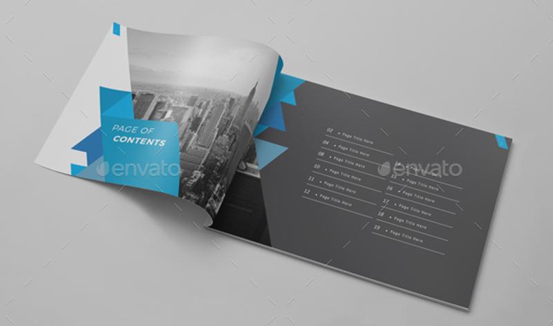 corporate real estate brochure