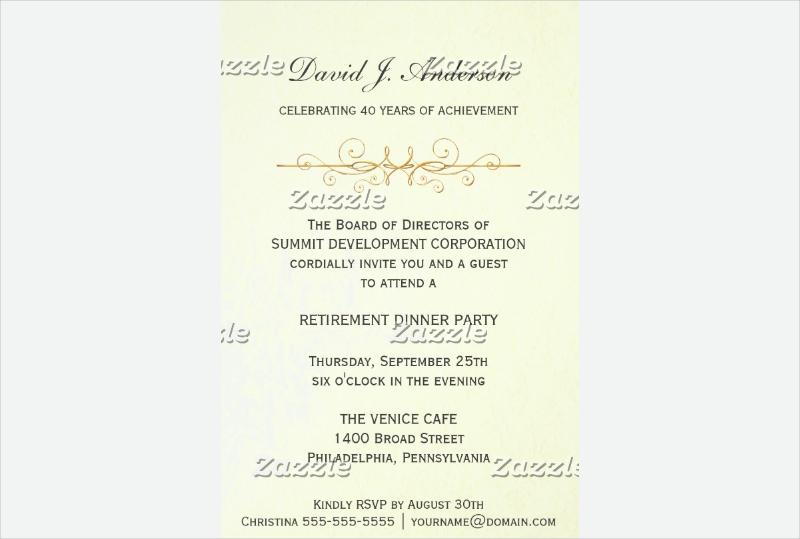 corporate retirement party invitation1