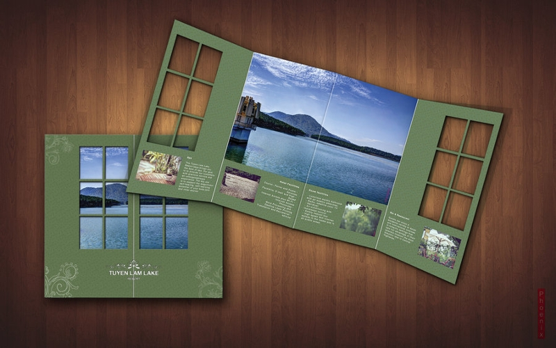 creative resort brochure