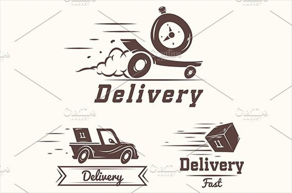 delivery service logo