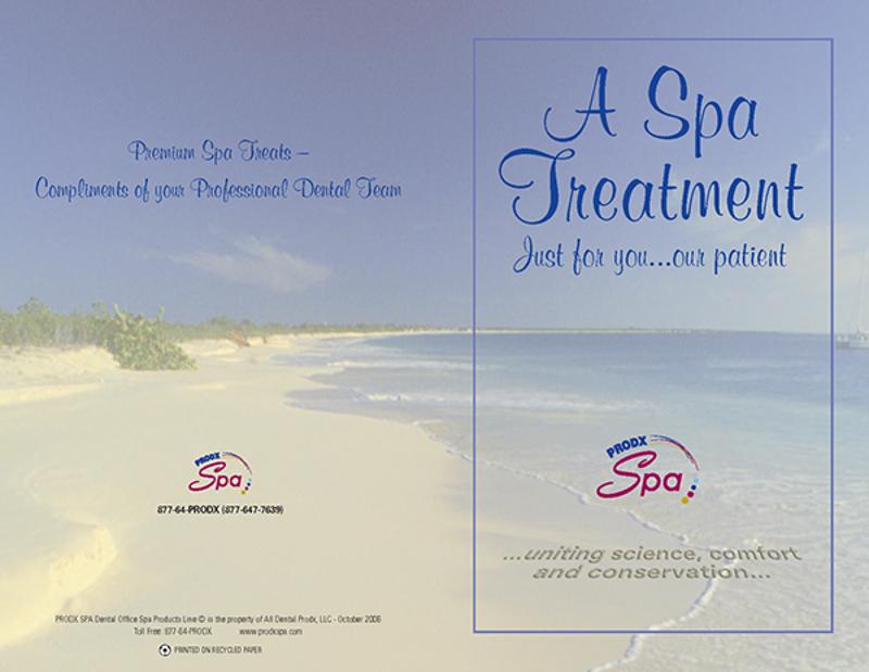 dental spa brochure