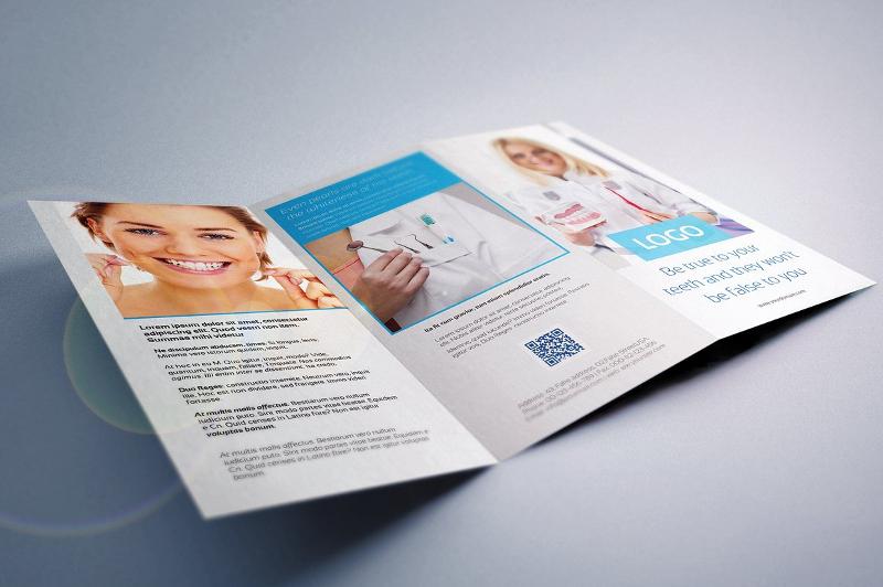 dental tri fold brochure