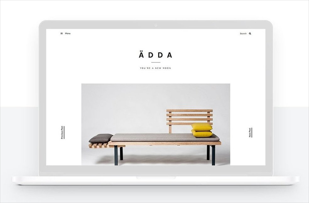 design and lifestyle blog portfolio