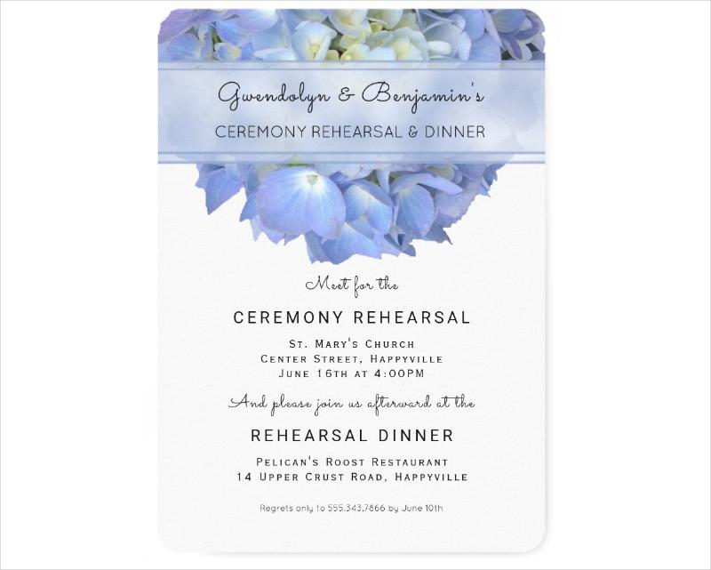 dinner ceremony invitation