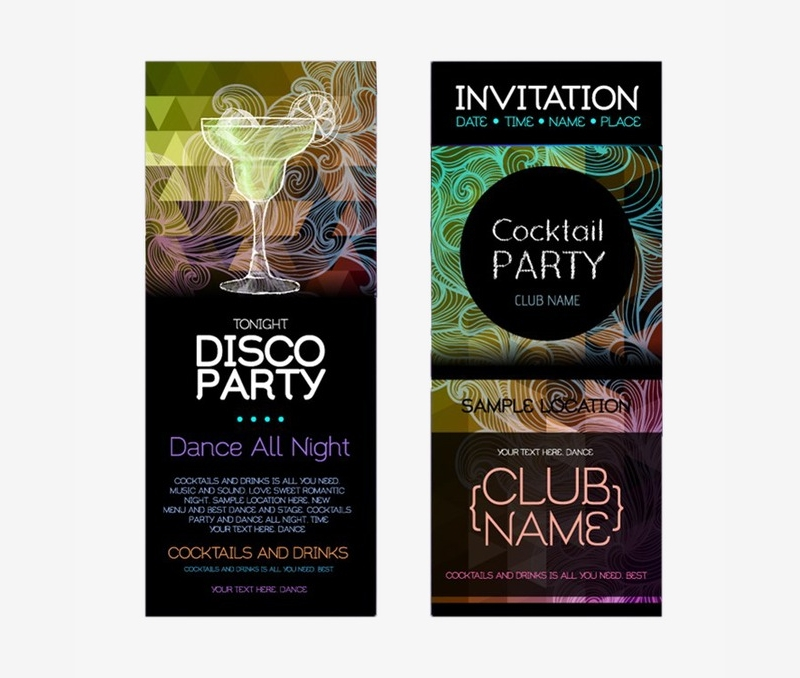 disco party invitation