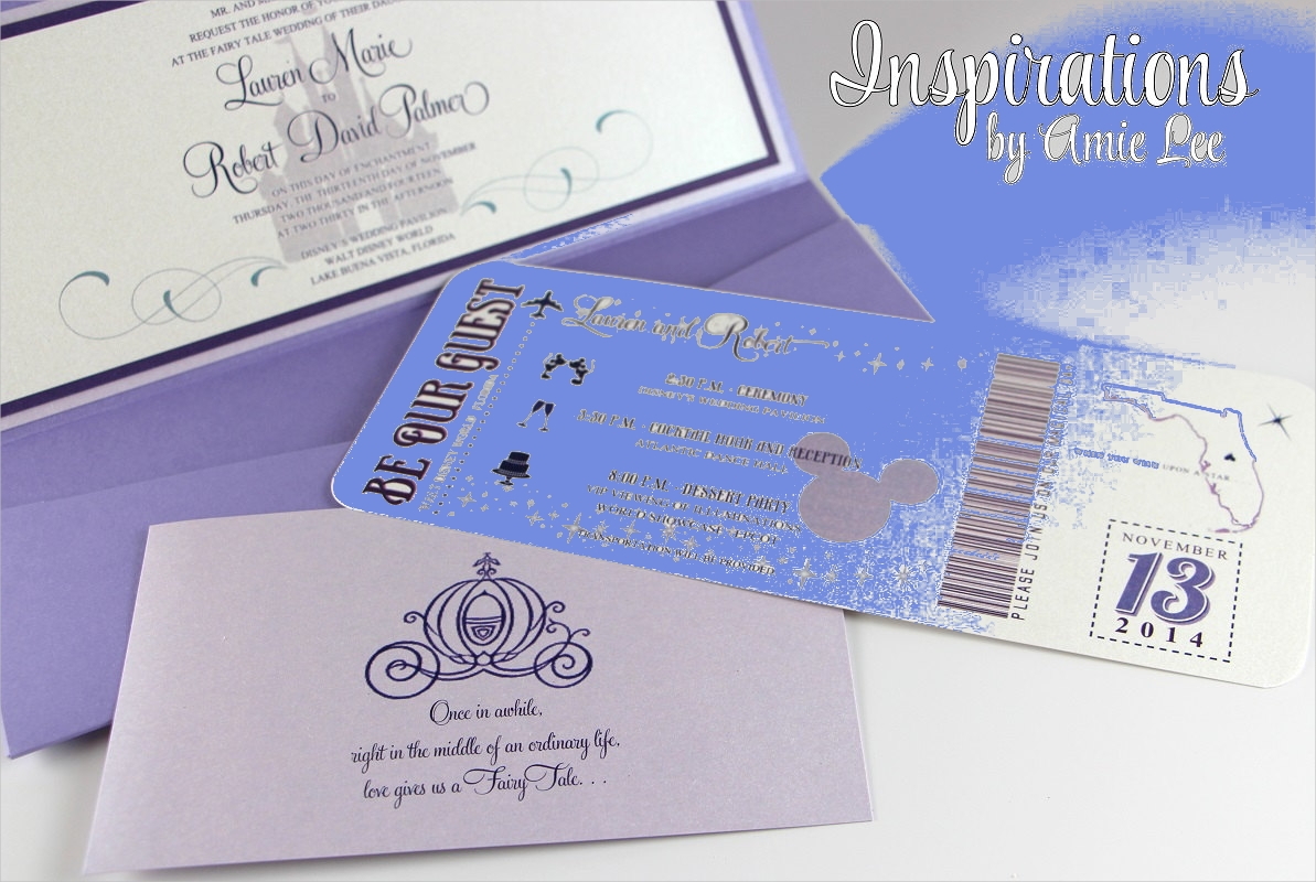 FREE 4+ Disney Wedding Invitation Designs & Examples in PSD  AI