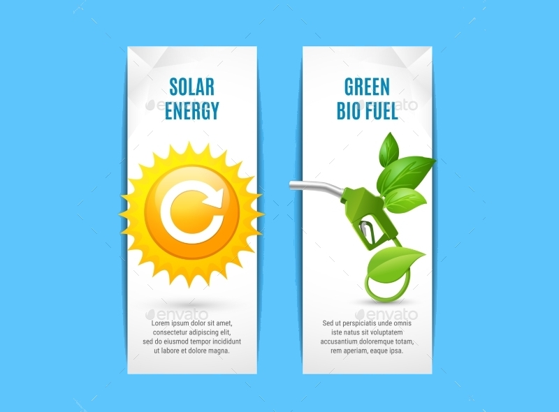 Ecology Vertical Banner