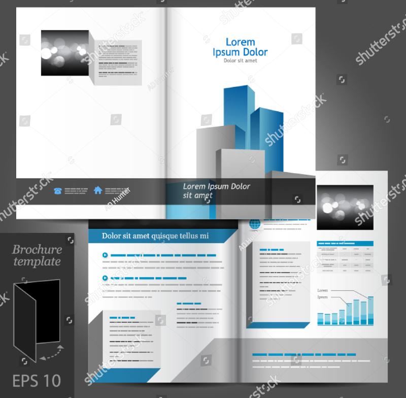 editable architecture brochure