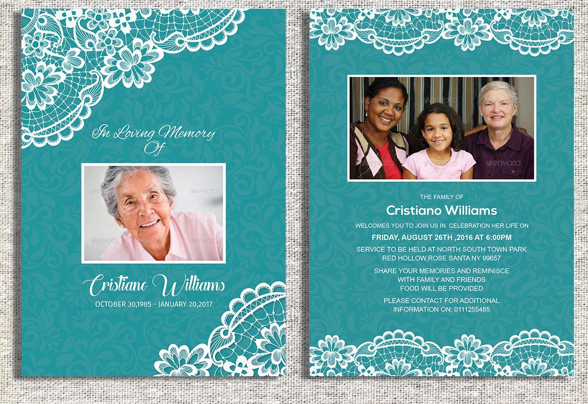 editable funeral invitation